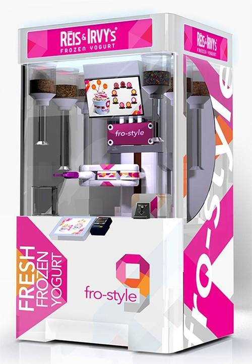 Robot Yogurt Kiosk